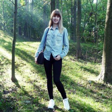 Leniwa sobota, czyli stylizacja z jeansową koszulą