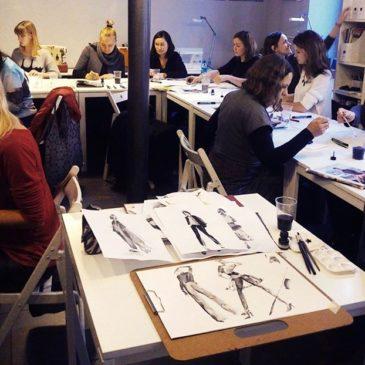Warsztaty ilustracji modowej w Slow Fashion Cafe