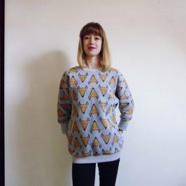 Jedyna i niepowtarzalna: bluza w lisy ♥