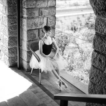 Magiczna sesja baletowa na zamku i łonie natury