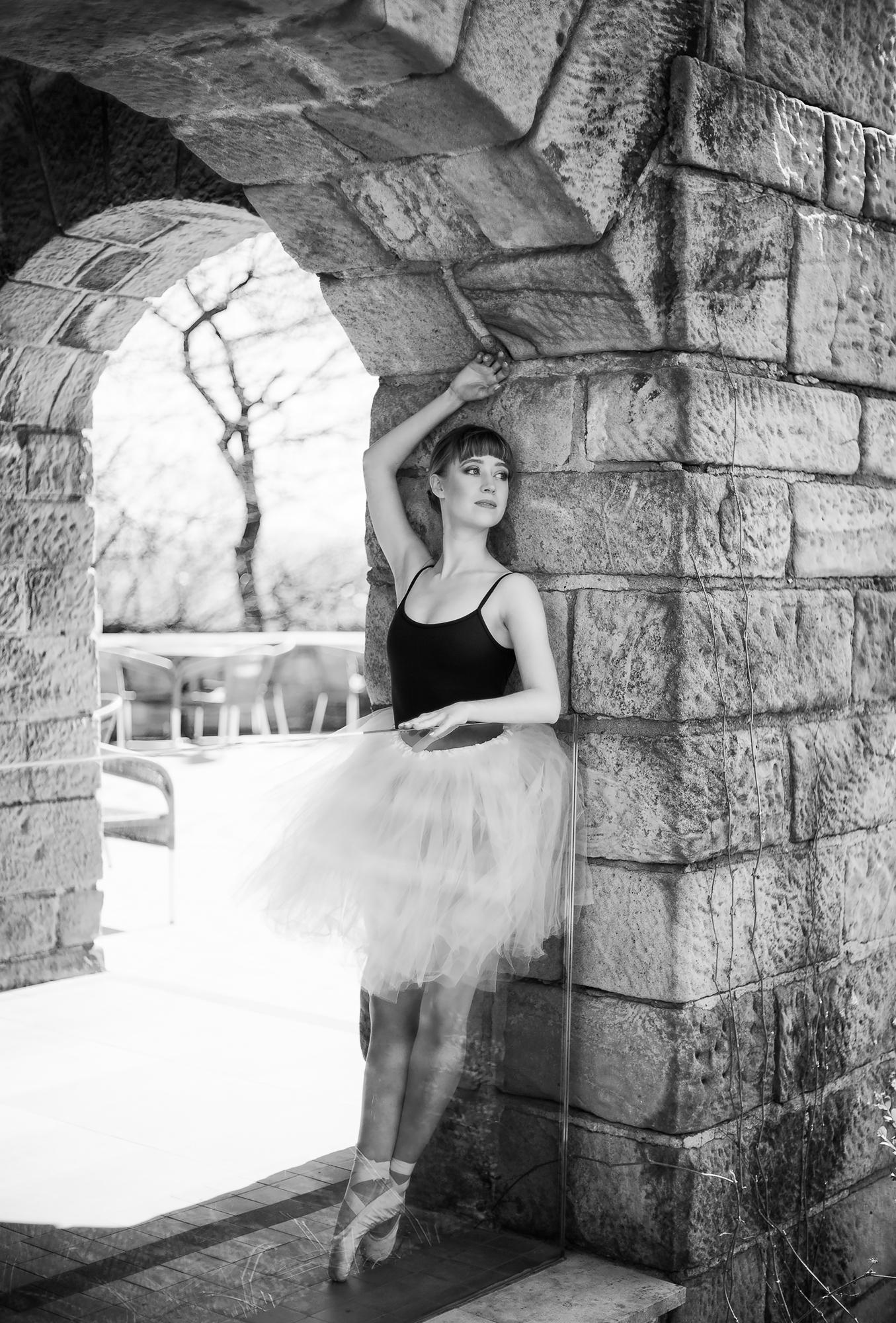 Sesja baletowa plener