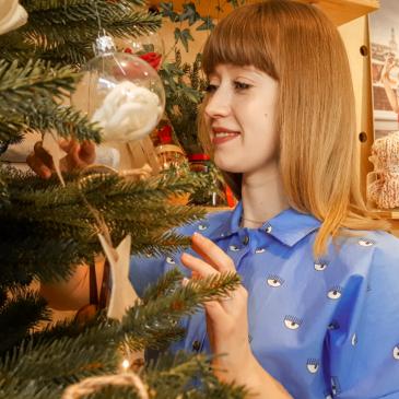 Sesja świąteczna z bawełnianą koszulą 🌟